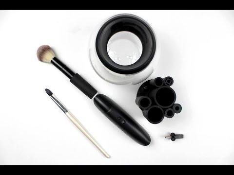 Erbse spielt mit Elektrogeräten: StylPro Makeup Brush Cleaner & Drier