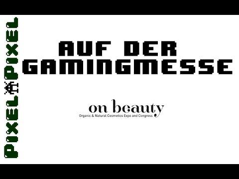 """PixelPixel - Auf der größten Spielemesse """"OnBeauty"""""""