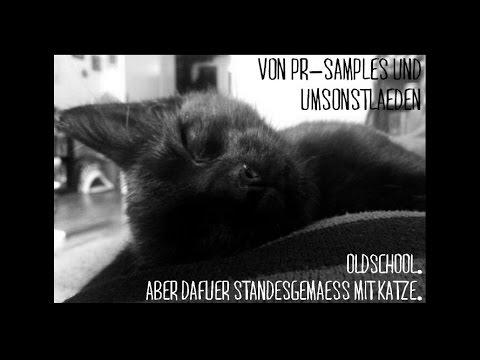 Von PR-Samples und Umsonstläden. Mit Katze.