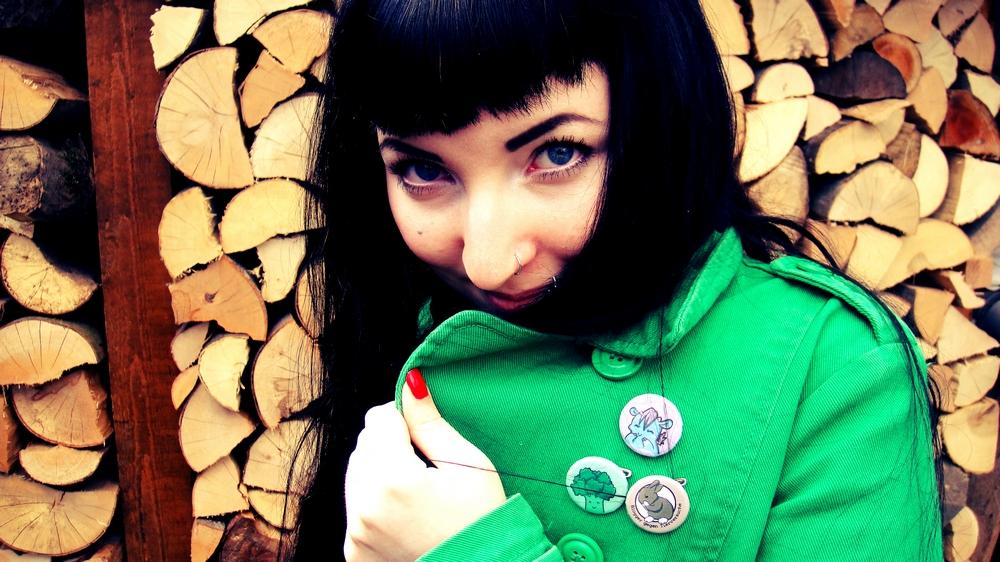 regenmonster buttons erbse blogger gegen tierversuche