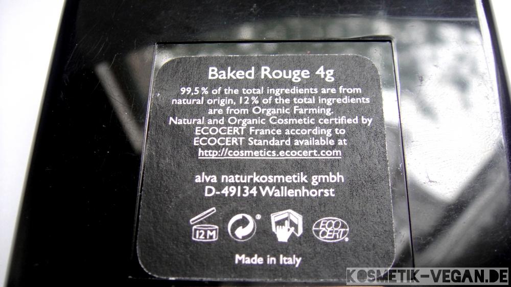 Alva Baked Rouge shiny brown vegan