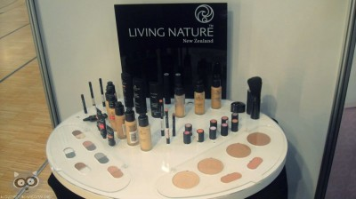 living Nature on beauty messe darmstadt 2012 display