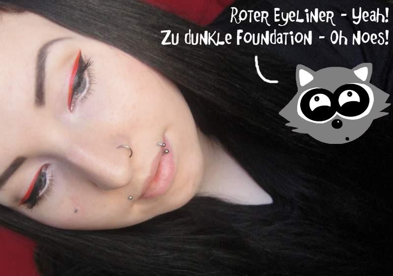 amu red eyeliner 1