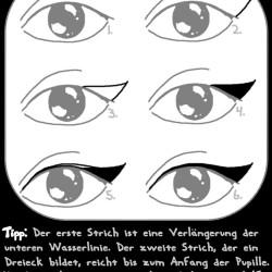 winged cat eyeliner tutorial