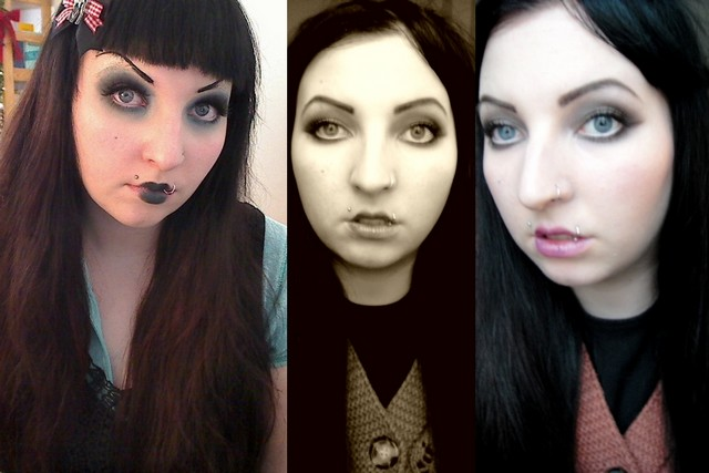 beauty blog vegan Creepy Alice in Wonderland und Theda Bara