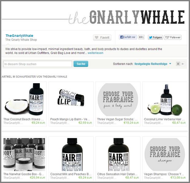 The Gnarly Whale Shop von TheGnarlyWhale auf Etsy