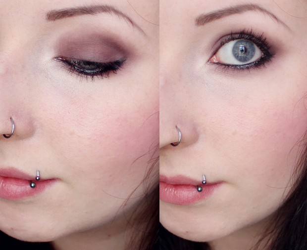 magimania herbst autumn fall look make up vegan red berry rot cruelty free 2013 amu (3)