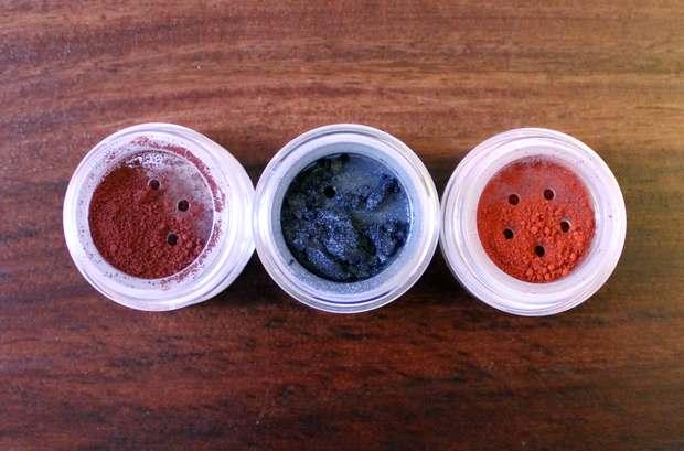 chrimaluxe minerals vegan haul raubzug einkauf kosmetik inci inhaltsstoffe lidschatten nicht vegan