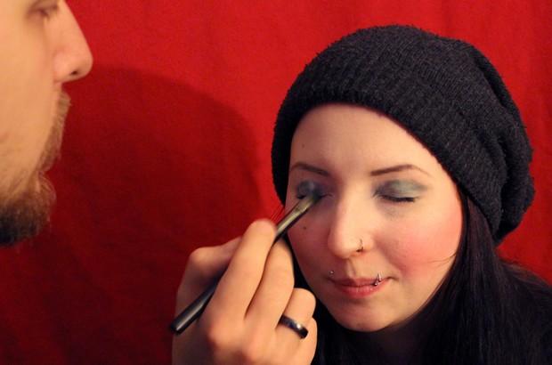 weihnachten 2013 jason dick erbse vegan schminken 1
