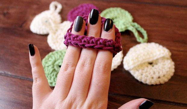 pads zum abschminken häkeln diy crochet vegan wattepads alternative anleitung scrubbies make up remover