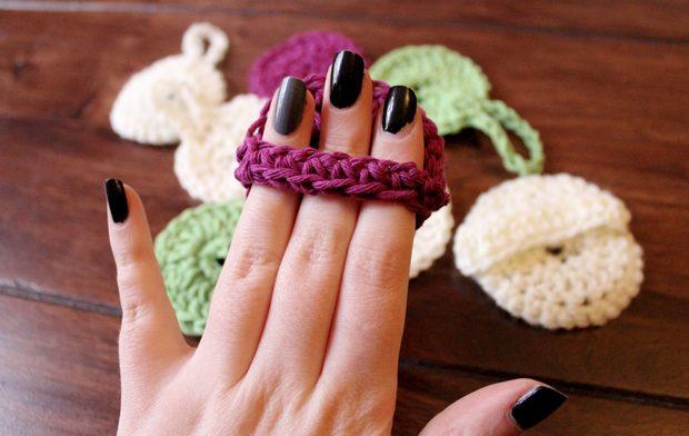 pads zum abschminken häkeln diy crochet vegan wattepads alternative anleitung scrubbies make up remover