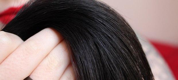 schwarze haare black hair die längen haare poo free ohne shampoo
