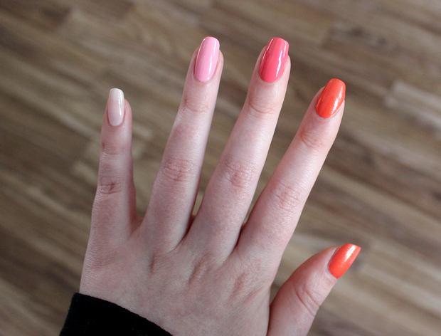 vegan nagellacke nailpolish spring frühling pink rosa peach deborah lippmann couleur caramel p2 2