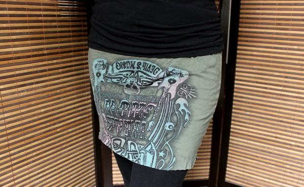 Upcycling Aus Shirt Wird Rock Ohne Nahen Vegan Beauty Blog