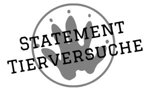 statement tierversuche