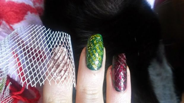 where are my dragons game of thrones drachen nailart dracheneier naildesign nagel vegan deborah lippmann p2 priti nyc butter london 3