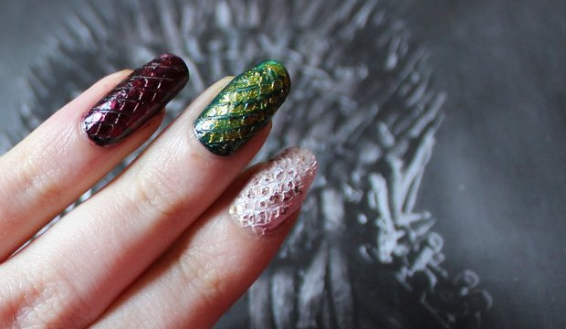 where are my dragons game of thrones drachen nailart dracheneier naildesign nagel vegan deborah lippmann p2 priti nyc butter london