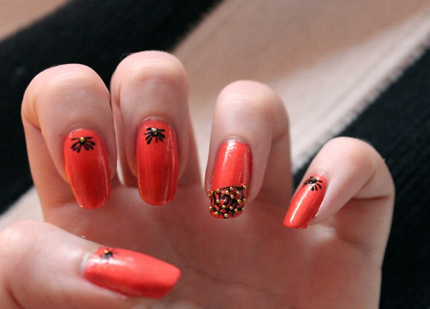 halloween spider web spinnen spinnennetz nails nageldesign vegan