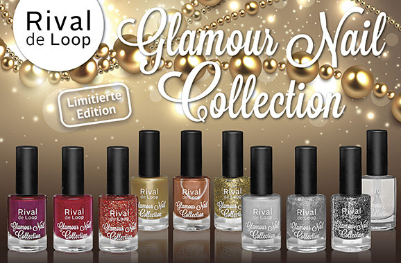 rival de loop le vegan limitiert Glamour Nail Collection kosmetik