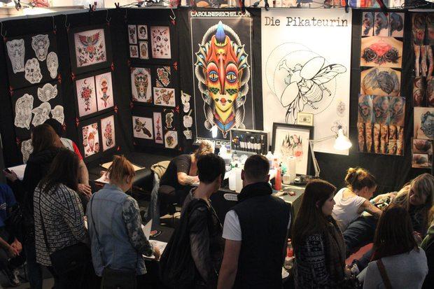 tattoomenta 2014 kassel kosmetik vegan tattoo tattoopflege die pikateurin