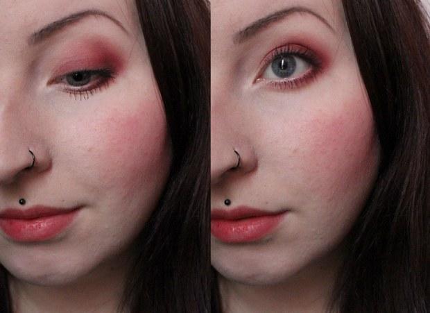 amu eyeshadow red rot make up snowwhite schneewittchen aker fassi lime crime palette venus erbse