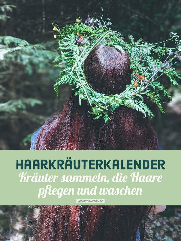 Haarkräuterkalender Haarkräuter Kräuter sammeln Haarpflege Haare waschen mit Pflanzen Wildkräuter Sammelkalender vegan (2)