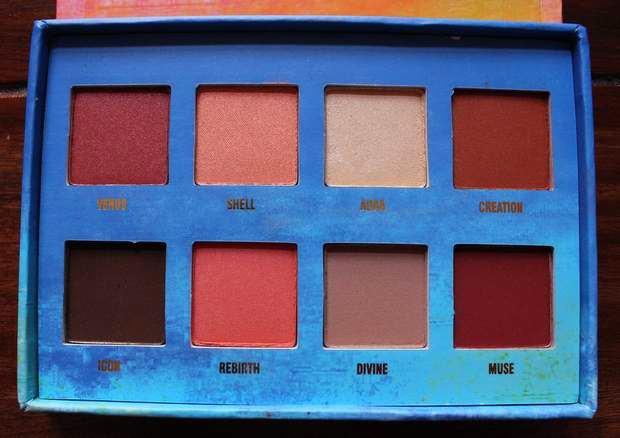 lime crime venus palette red eyeshadow vegan kosmetik erbse lidschatten rot