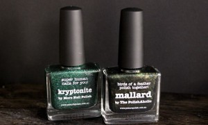 picture polish makeupland vegan nagellack 5 free kosmetik grün green kryptonite mallard