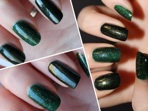 picture polish makeupland vegan nagellack 5 free kosmetik grün green kryptonite mallard swatch collage