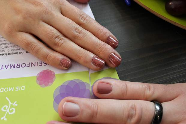 vivaness 2015 benecos vegan naturkosmetik natural nail care colour nagellack swatch