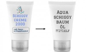 aquaschiggybaumöl schiggycreme 2000 pokemon schiggy kosmetik vegan aluminium parabene duftstoffe silikone alkohol impfgegner