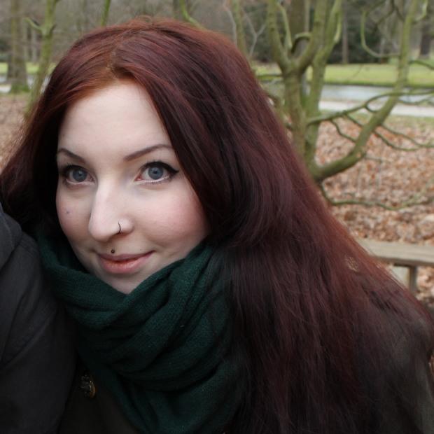 Haare blondieren gefärbte rot Einmal mit