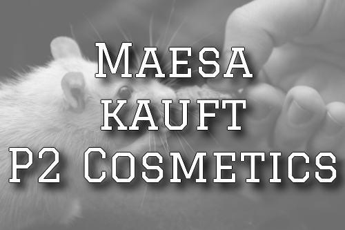 tierversuche animal testing rat ratte vegan kosmetik maesa kauft p2 cosmetics dm