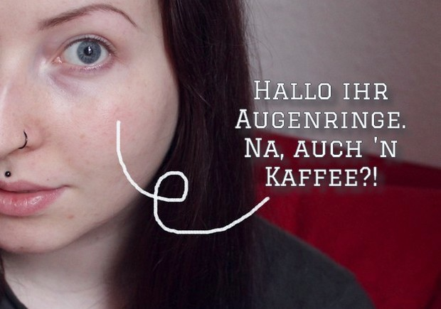 Kaffee augenringe diy you tube bloggen blog