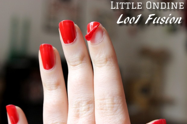 kurzwort vegan kosmetik naturkosmetik little ondine nagellack loo1 fusion red vegan beauty basket
