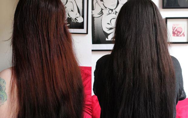 Radico Violett indigo henna anwendung tipp tricks vegan kosmetik pflanzen haare farbe lila schwarz vorher nachher