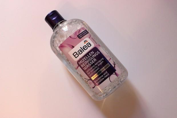 Balea Mizellen Reinigungswasser trockene und sensible Haut pflege vegan kosmetik