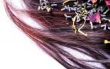 Alternative Haarwäsche Brennnessel DIY Haarspülung Kräuter Lavendel Melisse poo-free Rezept Ringelblume Rinse Rose selbstgemacht vegan 3