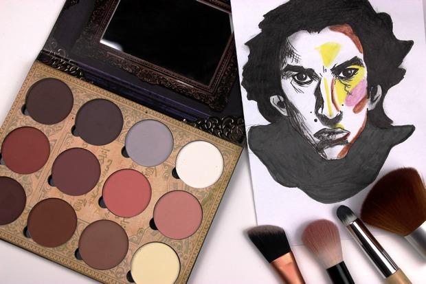 lunatick cosmetic labs vegan contouring palette kosmetik indie brands before after vorher nachher highlighter strobing kylo ren star wars