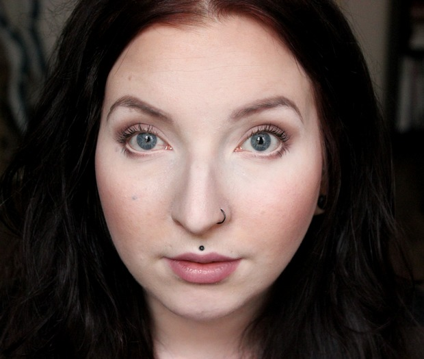lunatick cosmetic labs vegan contouring palette kosmetik indie brands before after vorher nachher highlighter strobing make up 4