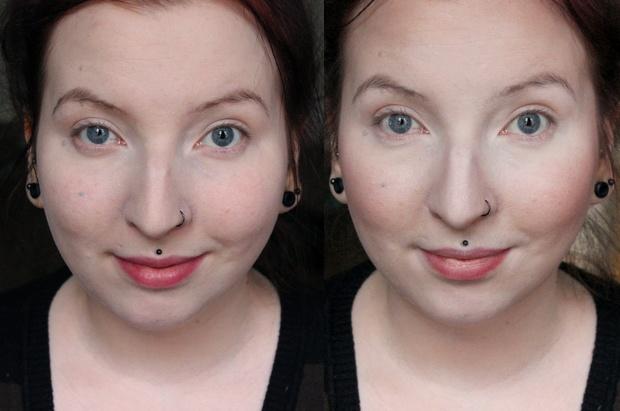 lunatick cosmetic labs vegan contouring palette kosmetik indie brands before after vorher nachher highlighter strobing