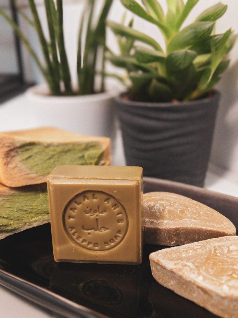 aleppo seife kosmetik vegan guide seife haare waschen haarseife olivenölseife lorbeer natürlich naturkosmetik