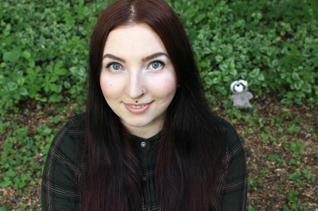 Blanc et Noir Erbse vegan kosmetik lange Haare Haarbande Waschbär
