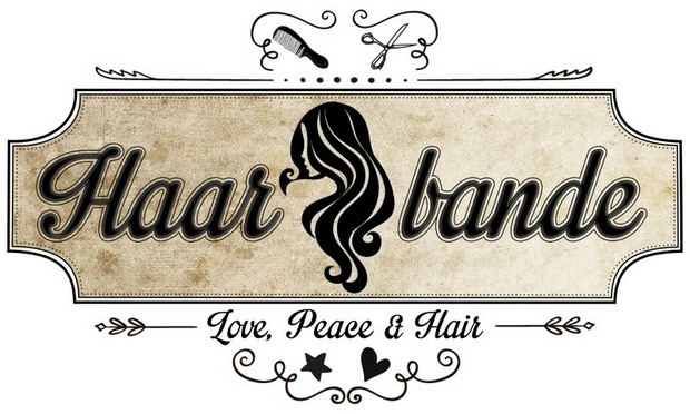 Haarbande Banner vegan Kosmetik lange Haare
