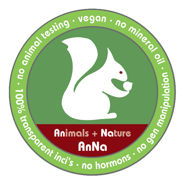 eichhoernchen-anna-frei- animals + nature zertifizierung vegan naturkosmetik label