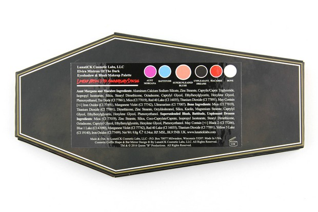 Lunatick-Cosmetic-Labs-Elvira-Mistress-of-the-dark-palette-red-eyeshadow-lidschatten-rot-vegan-tierversuchsfrei-cruelty-free-limited-ingredients-inhaltsstoffe-inci