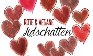 rote und vegane lidschatten tierversuchsfrei red eyeshadow vegan indie naturkosmetik natural organic