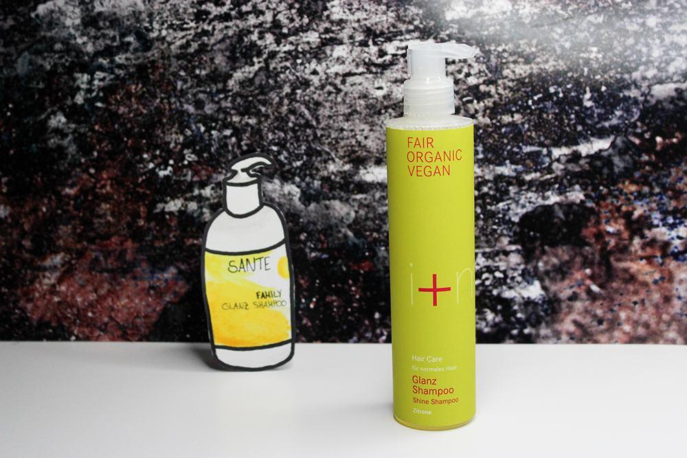 sante family glanz shampoo vegan naturkosmetik i+m zitrone