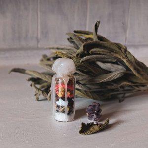witch bottle halloween samhain hexe hexenflasche magie diy vegan neujahr wünsche kürbis allerheiligen natur herbst autumn (11)