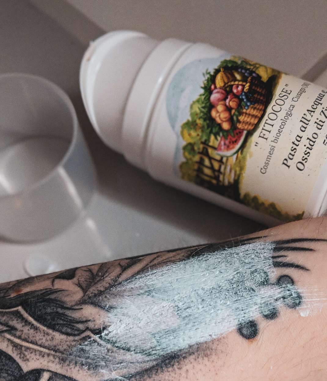 Vegan Beauty Haul Naturkosmetik cruelty free Ecco Verde Kosmetik Gesichtspflege Fitocose Water & Zinc Oxide Paste (1)